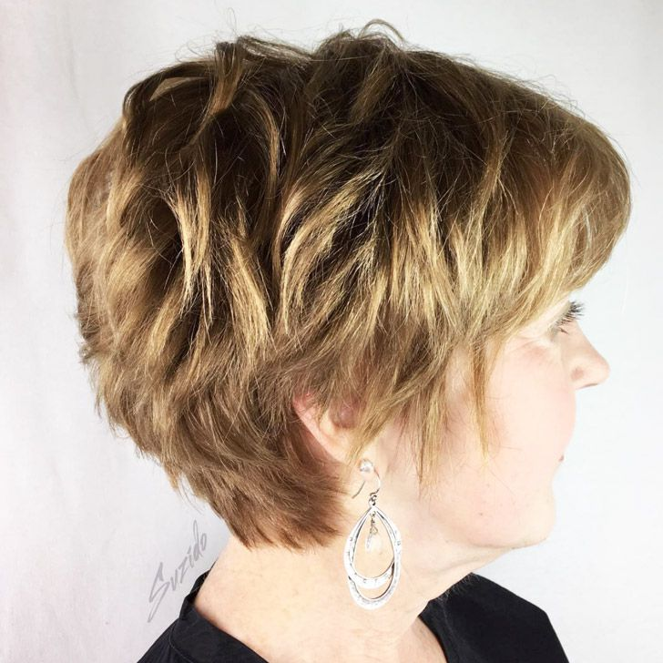 20 Best Short Hairdos For Women Over 60 That Will Take 20 Years Off Your Face_24