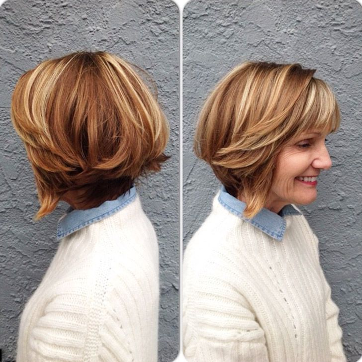 20 Best Short Hairdos For Women Over 60 That Will Take 20 Years Off Your Face_38