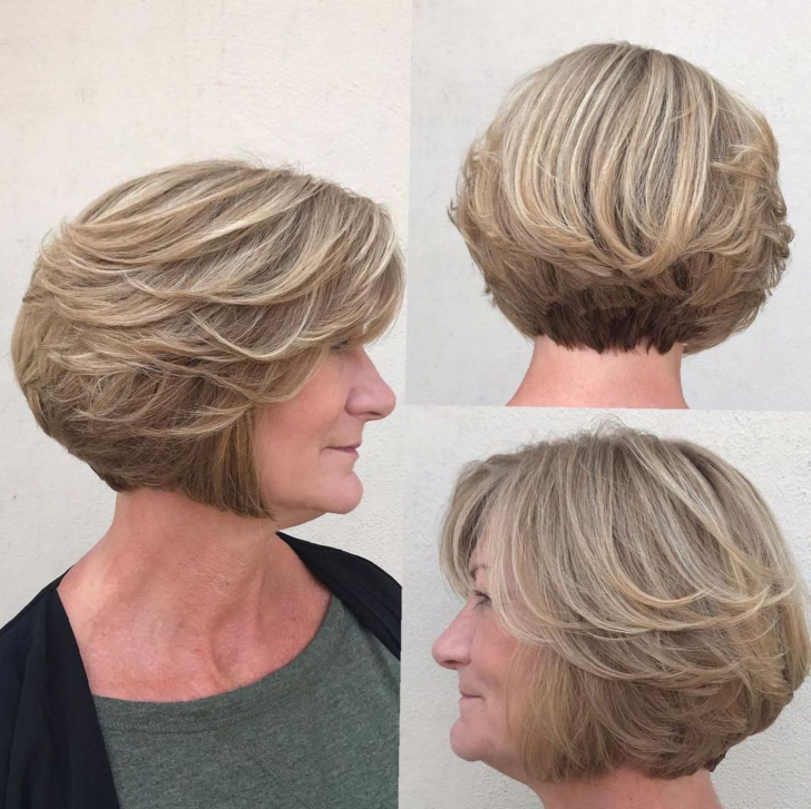 50 Best Short Hairdos For Women Over 60 That Will Take 20 Years Off Your Face_52