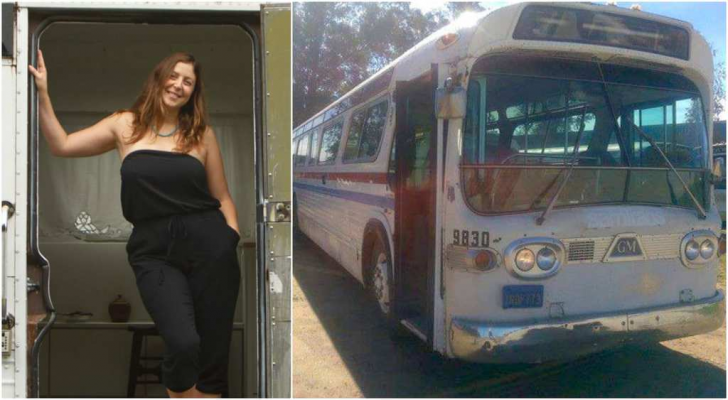 See How Woman Turned A Vintage Bus Into A Masterpiece_23