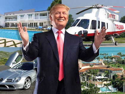 Donald Trump's Jaw Dropping Collection Of Planes And Cars