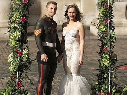 17 Of The Most Cringeworthy Wedding Dresses Ever Made