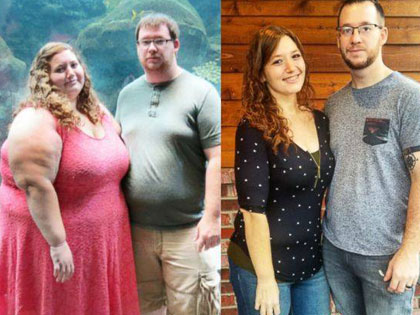 Couple Decides To Make A Change And 18 Months Later, They Look Completely Different