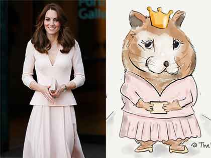 Hamster Name Inspirations From the Royal Family