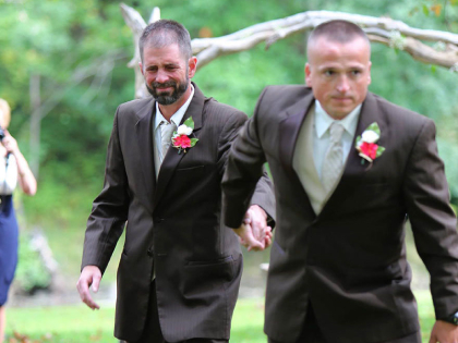 One Bride And Two Dads, The Most Heartwarming Moment